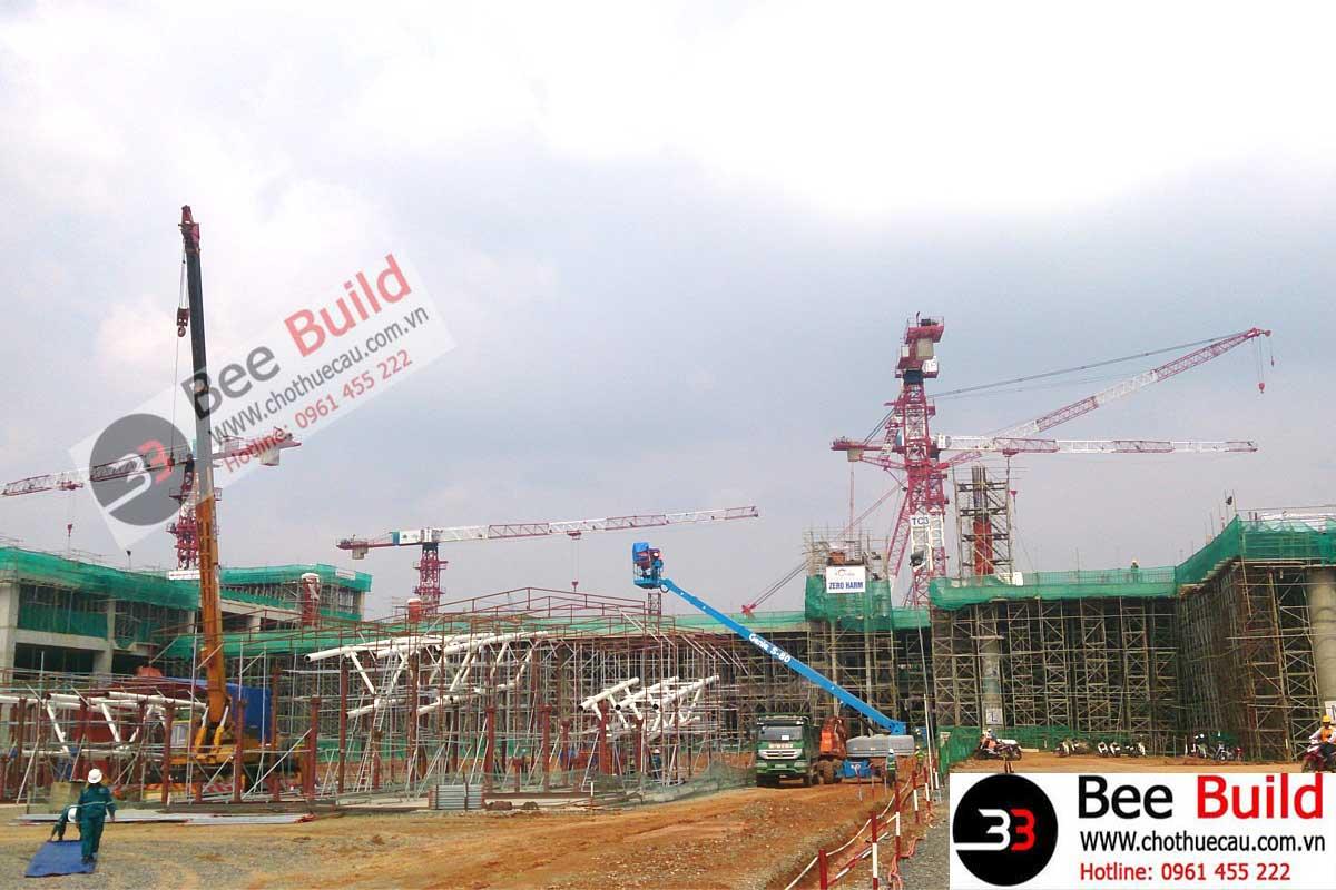 Cho Thuê Cẩu Tháp 12 Tấn Hiệu Top Sky TT6520-12