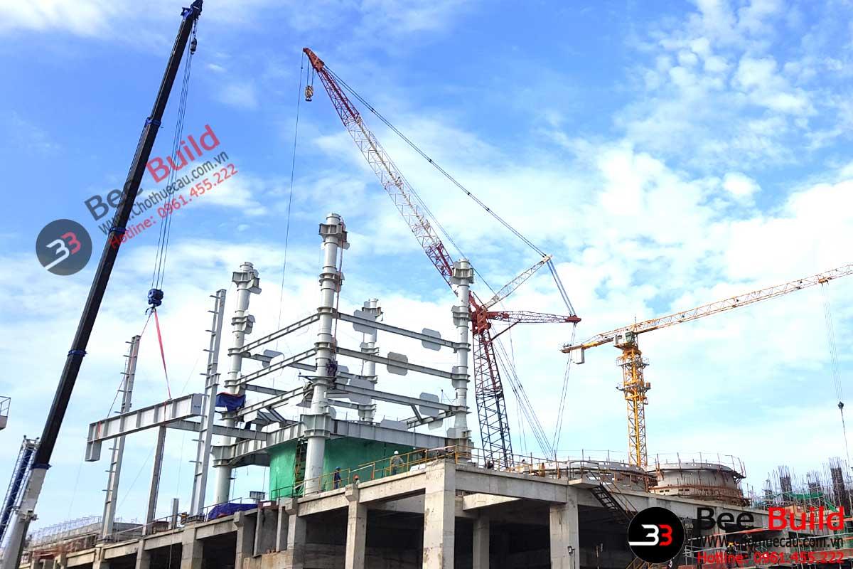 Cho thuê cẩu tháp 25 tấn uy tín chuyên nghiệp của BBC